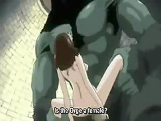 Anime slut gets her pussy creampied
