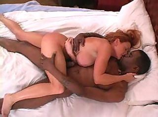 Mature wife makes interracial love
