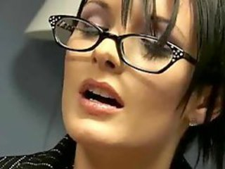Anal Babe Glasses Office