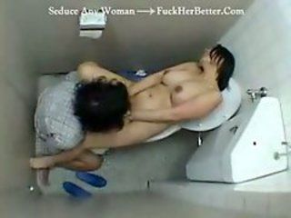 Asian Doctor Nurse Toilet