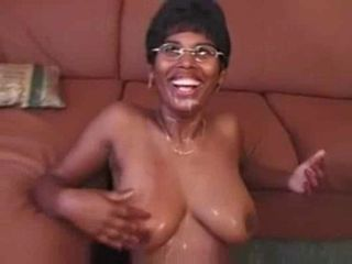Anal Ebony Glasses