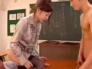 Japanese Stockings Teacher