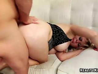 I fucked this mom slow & hard. Spermed her ass