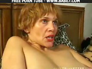 Hot Threesome With Two Blondes In Fishnet