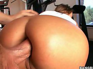 Rockin momma Trina Michaels gets her tight ass banged deep by a massive cock