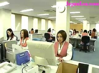New Japanese Office Worker Initi...