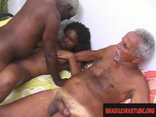 Amateur Ebony Old and Young Teen