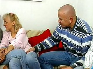 Blonde Cuckold Jeans Mature Wife