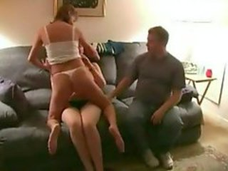 Two swinging couples swap partners for us