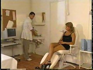 Agnese stock at the doctor for her sexual spark