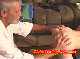 DADDY eats TEEN step-Daughters ASS OUT