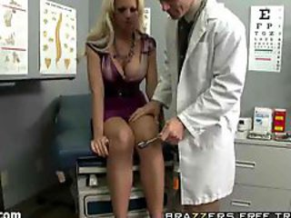 Examination Of Blonde Patient!