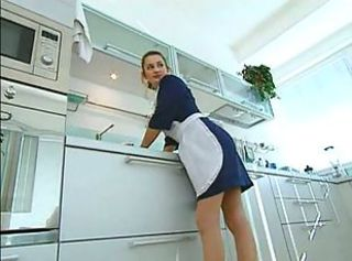 Anal Kitchen Maid