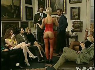 Groupsex Lingerie Party Stockings Vintage