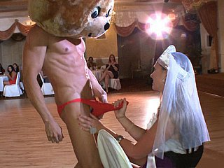 Bride Funny Handjob Party