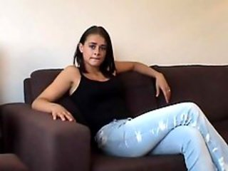 Casting Cute Jeans Teen