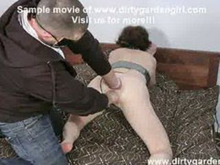 Dirtygardengirl  hard both holes fisting  prolapse