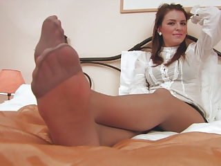 Amazing Feet Pantyhose
