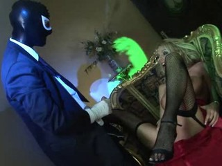 British blonde gets fucked in a...