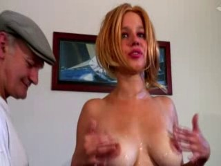 Amazing Big Tits Blonde French Old and Young