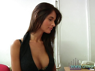 Big Tits Brunette European Long hair Teen