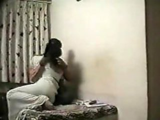 Indian couple films their sex in the bedroom
