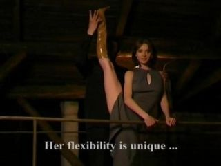 Flexible girl