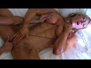 Bodybuilders Lisa and Wanda Lesbian Love Final Part