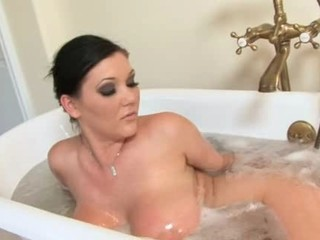 Amazing Bathroom Big Tits Brunette Daughter