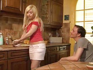 Young French Housewife Is Cheati...