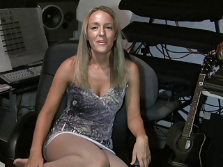 Blonde Mature Pantyhose
