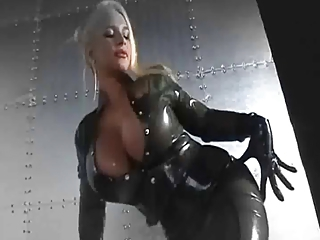 Beautiful Latex Covered Tits And...