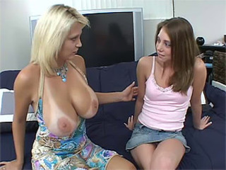 MILF Teaching Teen How To Coreograph a Threesome