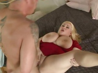 BBW Big Tits Blonde Chubby