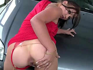 Ass Car Lingerie Pantyhose