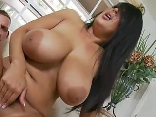 Mature Beauty With A Big Ass And Big Tits Gives A Mean Blowjob