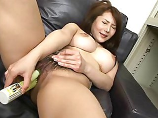 Asian Brunette Japanese Masturbating Natural Pussy Solo Toy