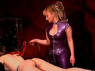 Two Gorgeous Babes In Latex Femdom