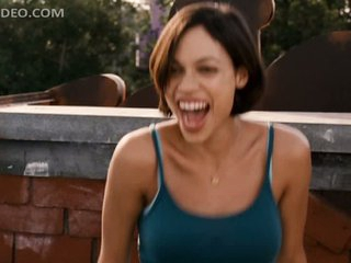 Delicious Rosario Dawson Dancing Outdoors in a Scene From 'Clerks 2'