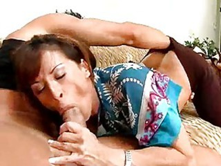 Super hot Devon Michaels deliciously fucks her lover's cock with her mouth