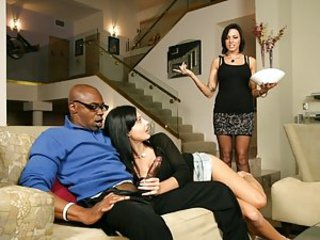 A Holy place -mansion with hot chicks and just one guy. Everyone wanna get his huge, black cock. But just some of them will get it. But don`t be afraid, this hard cock will fuck all of your wet pussies. And even more, all of your mouths will taste this ch