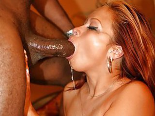 Shai Lee, this exotic-looking chick struggles with a huge black dong - a must see! Do you think she manages deepthroat?