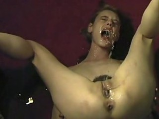 Sweet squirt self facial