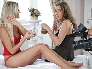 Meet the two playful sexy chicks: Eliska and Neilla. Join them in some very hot lesbian sex. Watch Eliska and Neilla show their firm boobs and their juicy pussies. First it's Neilla's turn to lick Eliska's vagina and to fuck her with her fingers. Then the