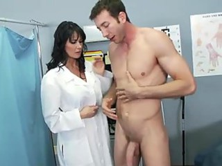 Brunette Doctor Uniform