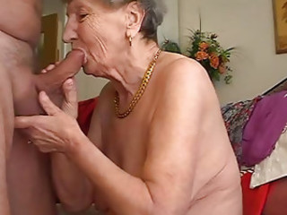 Granny likes to play the flute