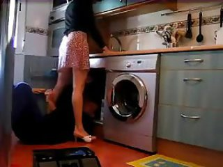 Kitchen Upskirt
