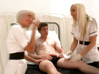 Nurses laughing at a guys small penis