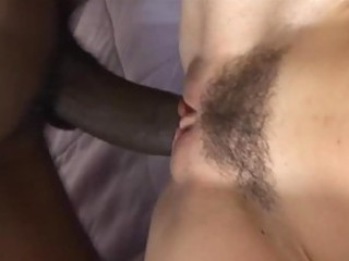 Close up Hairy Interracial