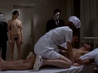 Audience Watching an Asian Nurse Getting Fucked